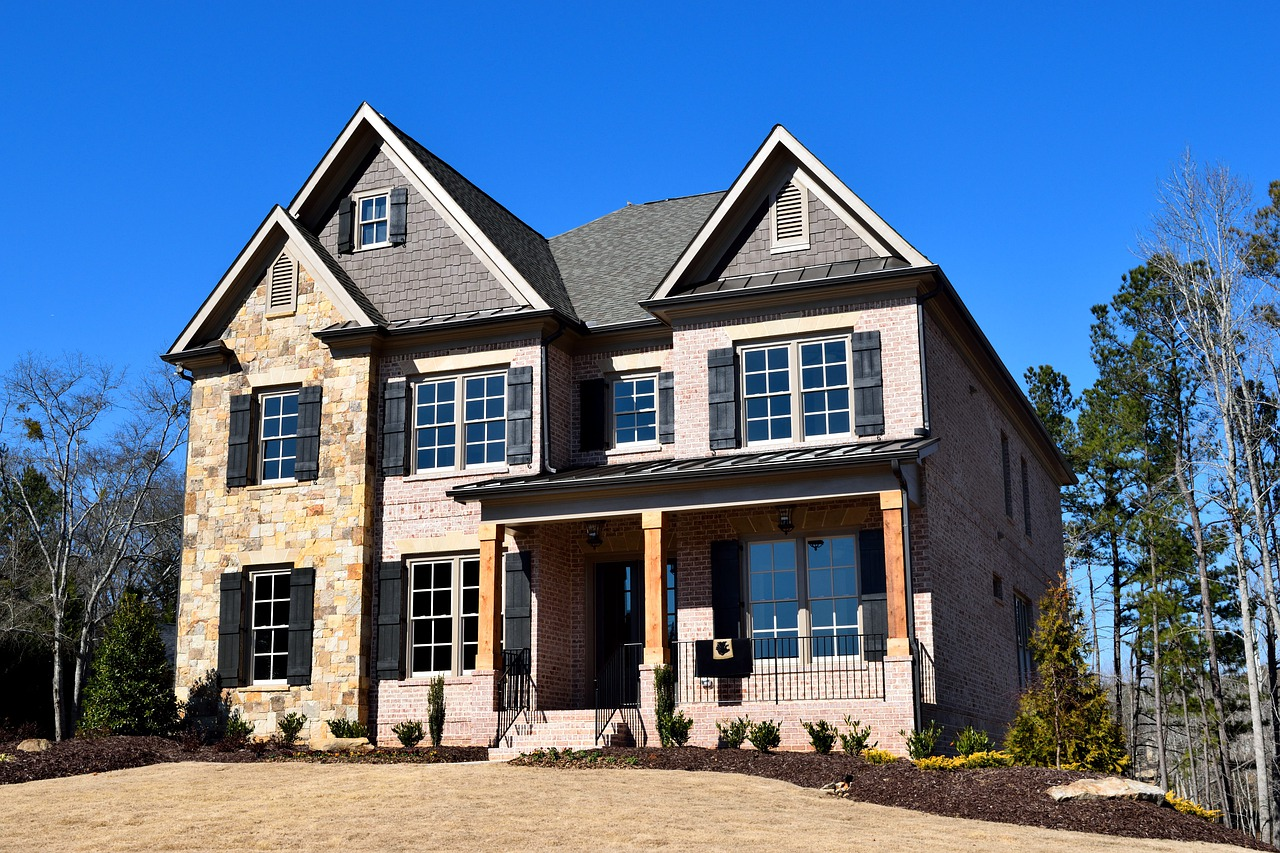 Large single-family home.
