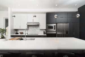 An upscale kitchen